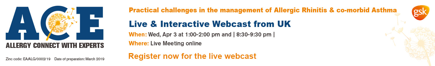 Allergy Connect with Experts - GSK Webinar